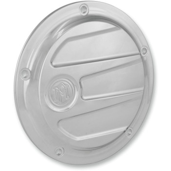 Performance Machine Scallop Derby Cover for 1999-2018 Harley - Chrome