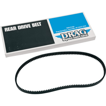 "Drag Specialties 1-1/8"" Rear Drive Belt 137 Tooth for Harley - Repl. OEM #40571-04B"
