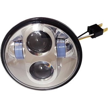 "Pathfinder 5-3/4"" LED Headlight - Chrome"