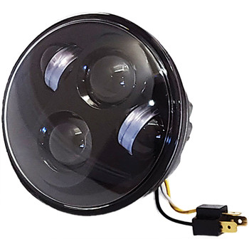 "Pathfinder 5-3/4"" LED Headlight - Black"