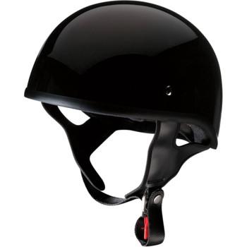Z1R CC Beanie Half Helmet - Gloss Black