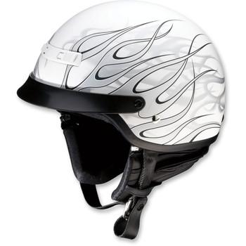Z1R Nomad Hellfire Helmet - Matte White/Gray