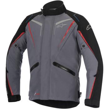 Alpinestars Yokohama Drystar Jacket - Dark Gray/Black/Red