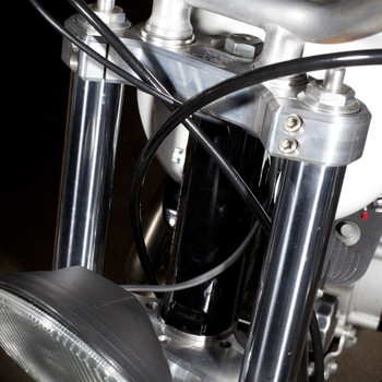 Speed Merchant 39mm Speed Triple Trees for Harley - Polished
