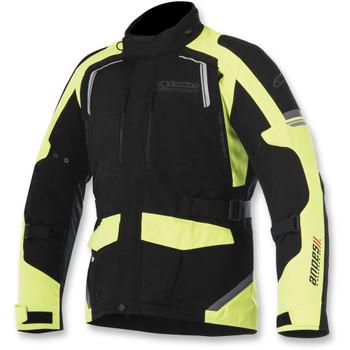 Alpinestars Andes Drystar Jacket V2 - Black/Fluorescent Yellow