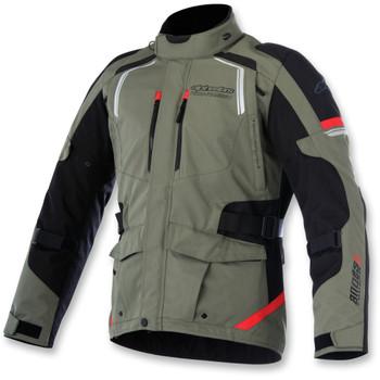Alpinestars Andes Drystar Jacket V2 - Military Green/Black/Red