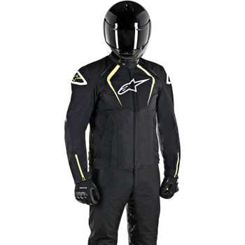 Alpinestars T-Jaws Waterproof Jacket - Black/White/Yellow