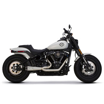 Two Brothers Racing 2-Into-1 Gen II Comp-S Exhaust for 2018 Harley Softail - Stainless Steel