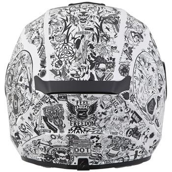 Scorpion EXO-R420 Shake Helmet - White