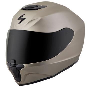 Scorpion EXO-R420 Solid Helmet - Titanium