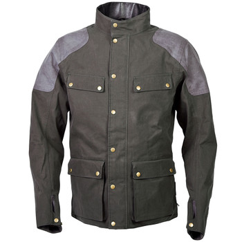 Scorpion Birmingham Wax Jacket - Green