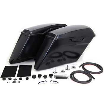 V-Twin Mfg. Stretched CVO Style Saddlebag Kit for 2014-2018 Harley Touring