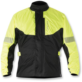 Alpinestars Hurricane Rain Jacket - Black/Yellow