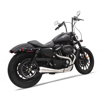 Bassani Road Rage 3 Stainless Exhaust for 2004-2020 Harley Sportster