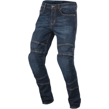 Alpinestars Crank Denim Motorcycle Riding Jeans - Dark Rinse