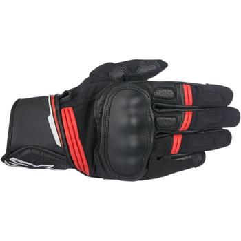 Alpinestars Booster Leather Gloves - Black/Red