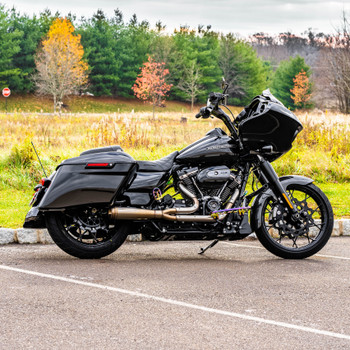 Trask Straight Assault 2-Into-1 Exhaust for 2017-2020 Harley Touring