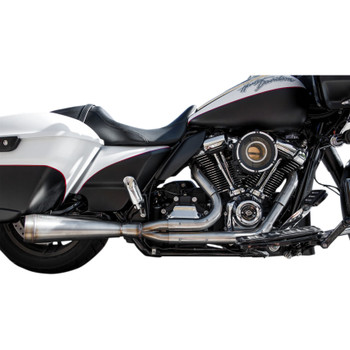 Trask Kickout Assault 2-Into-1 Exhaust for 2017-2018 Harley Touring