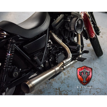 Trask Assault 2-Into-1 Exhaust for Harley FXR