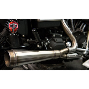 Trask Assault 2-Into-1 Exhaust for 1991-2005 Harley Dyna