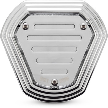 Burly Hex Air Cleaner for 2001-2017 Harley Big Twins - Chrome