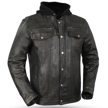 First Mfg. Vendetta Leather Jacket