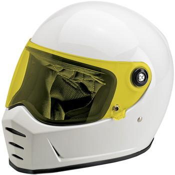 Biltwell Lane Splitter Shield - Yellow