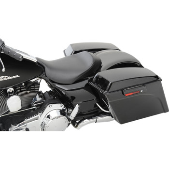 Saddlemen S3 Super Slammed Solo Seat for 2008-2020 Harley Touring