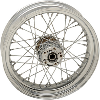 """Drag Specialties 17"""" x 4.5"""" Laced 40-Spoke Rear Wheel for 2012-2017 Harley Dyna with ABS"""