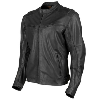 Speed and Strength Dark Horse Leather Jacket - Black