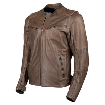 Speed and Strength Dark Horse Leather Jacket - Brown