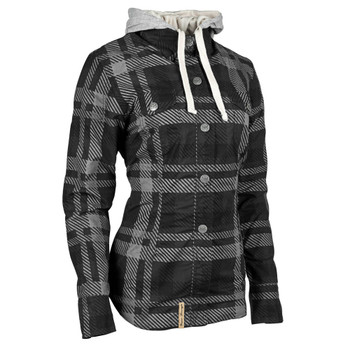 Speed and Strength True Romance Flannel Moto Shirt - Black