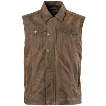 Roland Sands Ramone Perforated Textile Vest - Ranger