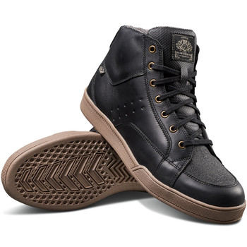 Roland Sands Fresno Riding Shoe - Black/Gum