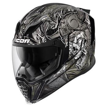 Icon Airflite Krom Helmet - Black
