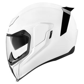 Icon Airflite Gloss White Helmet