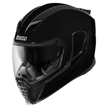 Icon Airflite Gloss Black Helmet