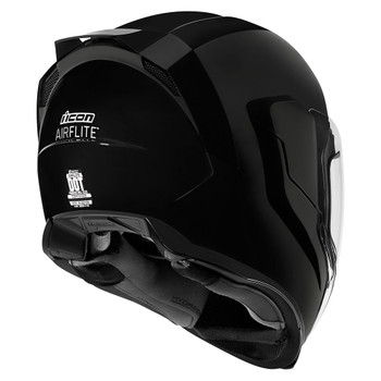 Icon Airflite Gloss Black Helmet