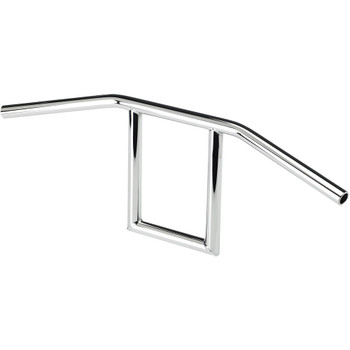 "Biltwell 1"" Window Bars Handlebars - Chrome"