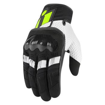 Icon Overlord Gloves - Hi Viz
