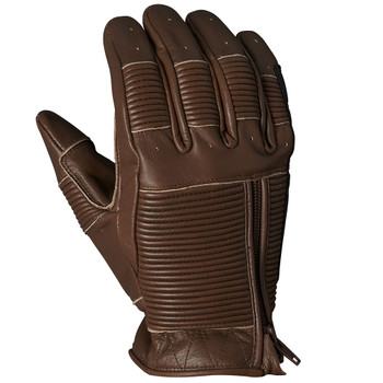 Roland Sands Bronzo Leather Gloves - Tobacco