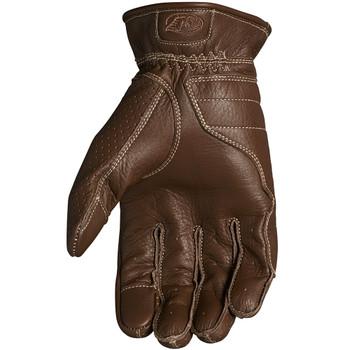 Roland Sands Wellington Leather Gloves - Tobacco