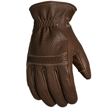 Roland Sands Wellington Leather Gloves - Tobacco