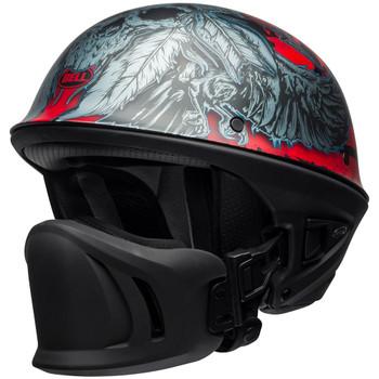 Bell Rogue Airtrix Matte Black/Red/Titanium Helmet