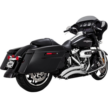 Vance & Hines Big Radius Exhaust for 2017-2018 Harley Touring - Chrome