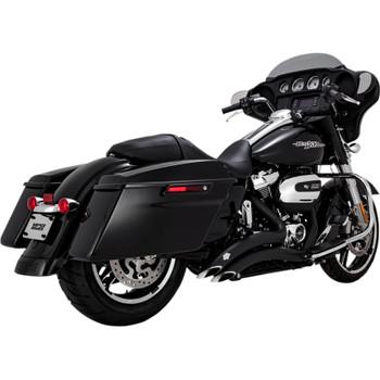 Vance & Hines Big Radius Exhaust for 2017-2020 Harley Touring - Black