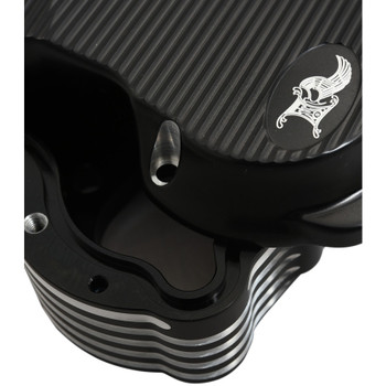 Ken's Factory Neo-Fusion Rocker Box Covers for Harley Twin Cam - Black