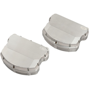 Ken's Factory Neo-Fusion Rocker Box Covers for Harley Twin Cam - Polished