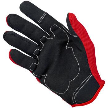 Biltwell Moto Gloves - Red/Black/White