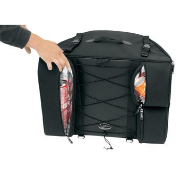 Saddlemen BR4100 Rigid Dresser Back Seat Bag
